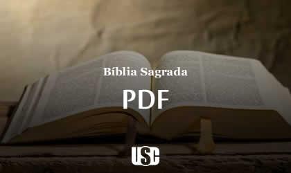 Bíblia Sagrada em PDF versão Revista e Corrigida