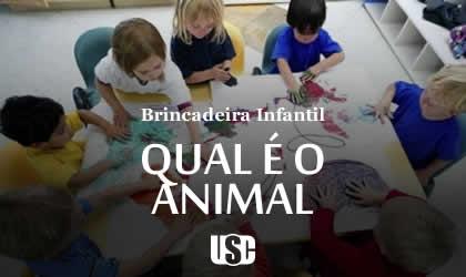 Brincadeira do Qual é o Animal?