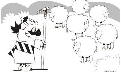 Lição infantil Parábola da ovelha perdida