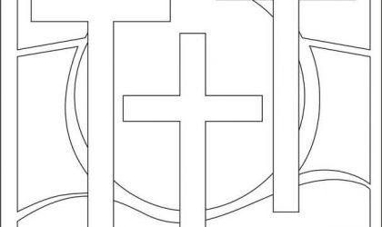 Desenhos para colorir com tema Páscoa