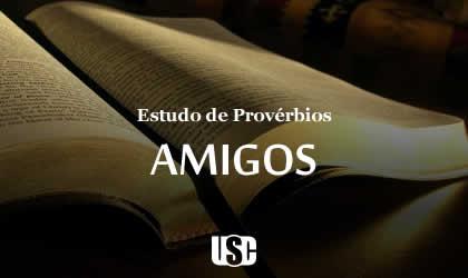Textos de Provérbios sobre Amigos