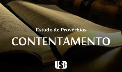 Textos de Provérbios sobre Contentamento