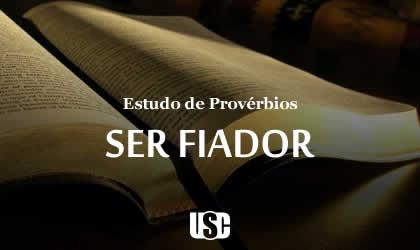 Textos de Provérbios sobre Ser Fiador