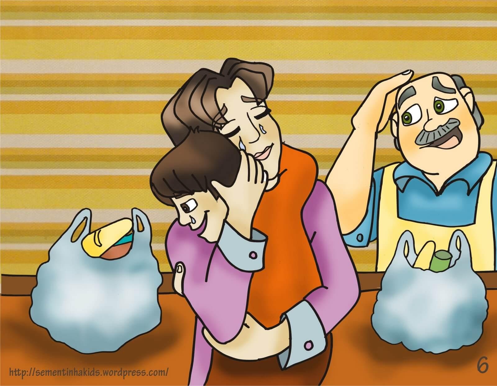 História infantil O poder da oração de uma mãe!