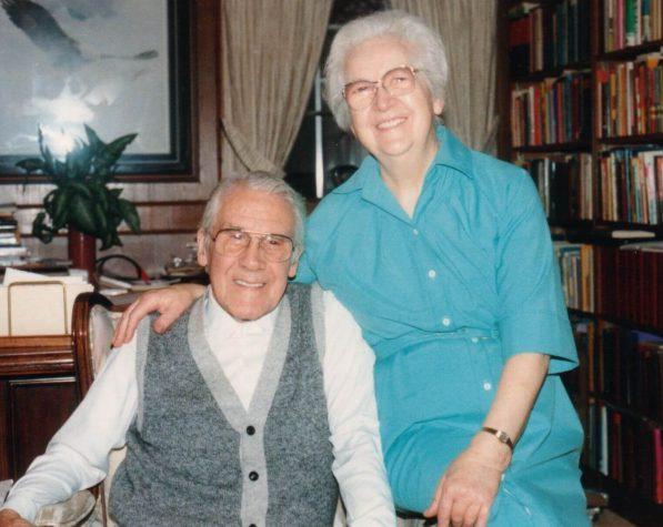 Leonard e sua Esposa Martha