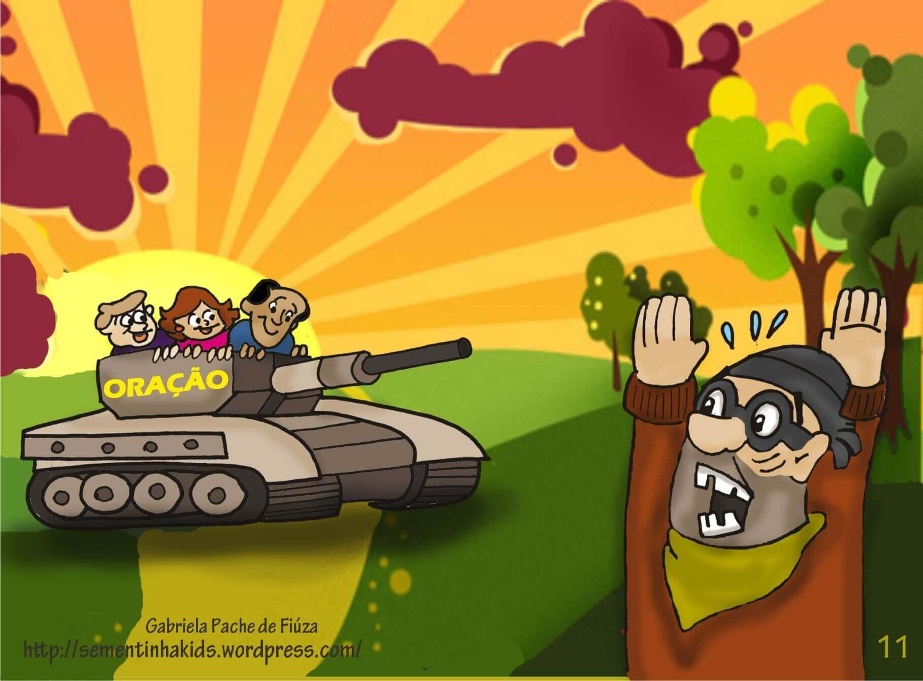 História infantil A poderosa arma secreta
